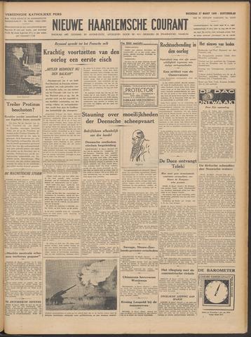 Nieuwe Haarlemsche Courant 1940-03-27