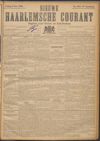 Nieuwe Haarlemsche Courant 1906-11-09
