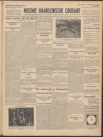 Nieuwe Haarlemsche Courant 1934-08-14