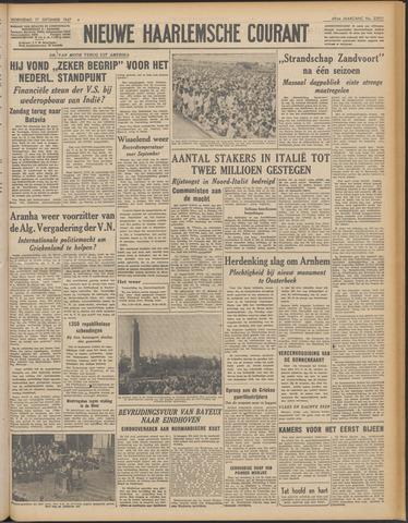 Nieuwe Haarlemsche Courant 1947-09-17