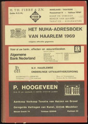Adresboeken Haarlem 1969