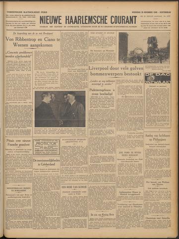 Nieuwe Haarlemsche Courant 1940-11-20