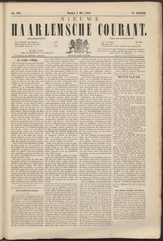 Nieuwe Haarlemsche Courant 1884-05-04