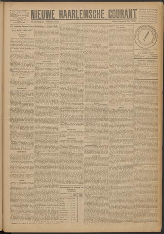 Nieuwe Haarlemsche Courant 1924-02-21