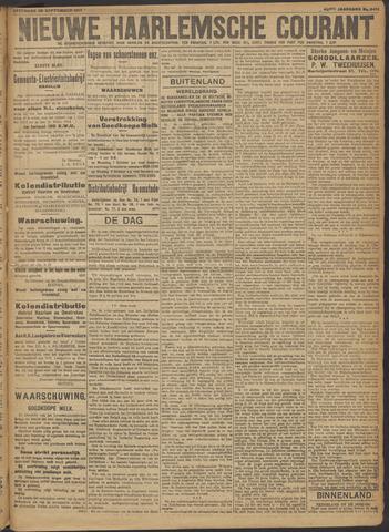 Nieuwe Haarlemsche Courant 1917-09-29