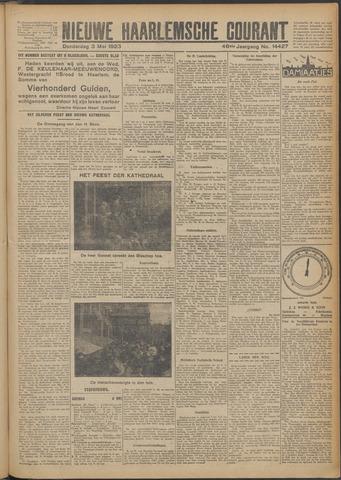 Nieuwe Haarlemsche Courant 1923-05-03