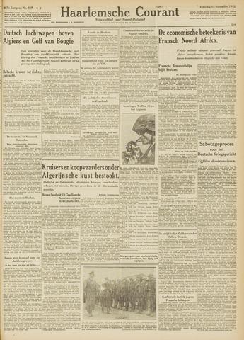 Haarlemsche Courant 1942-11-14