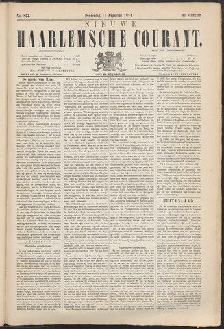 Nieuwe Haarlemsche Courant 1884-08-14