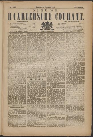 Nieuwe Haarlemsche Courant 1889-11-20