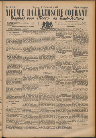 Nieuwe Haarlemsche Courant 1906-02-02