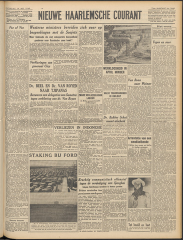 Nieuwe Haarlemsche Courant 1949-05-14