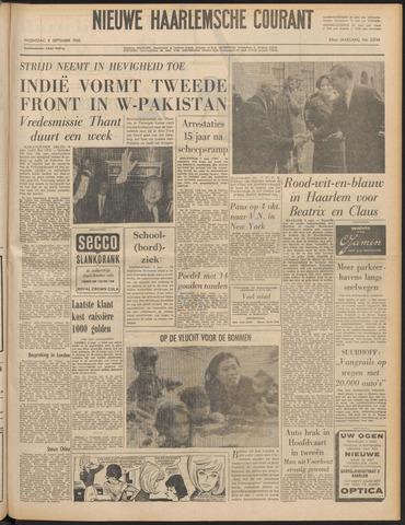 Nieuwe Haarlemsche Courant 1965-09-08