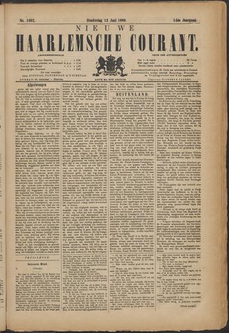 Nieuwe Haarlemsche Courant 1889-06-13