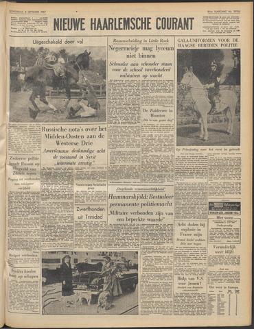 Nieuwe Haarlemsche Courant 1957-09-05