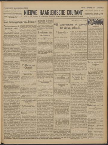 Nieuwe Haarlemsche Courant 1940-09-06