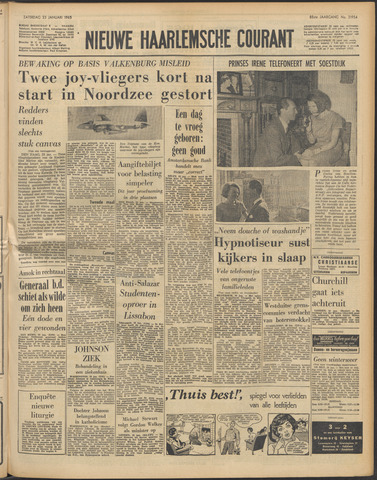 Nieuwe Haarlemsche Courant 1965-01-23
