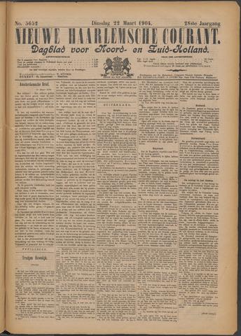 Nieuwe Haarlemsche Courant 1904-03-22