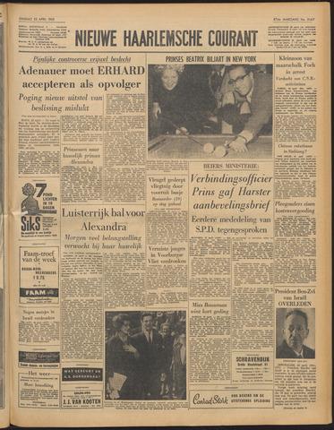 Nieuwe Haarlemsche Courant 1963-04-23