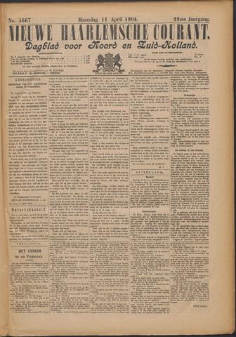 Nieuwe Haarlemsche Courant 1904-04-11
