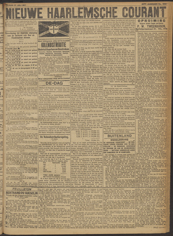 Nieuwe Haarlemsche Courant 1917-07-27