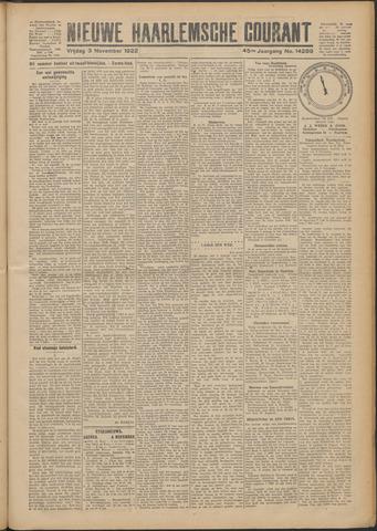 Nieuwe Haarlemsche Courant 1922-11-03