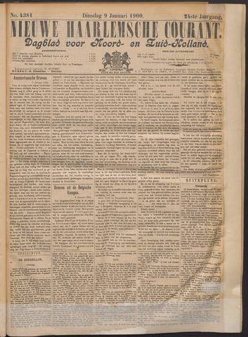 Nieuwe Haarlemsche Courant 1900-01-09