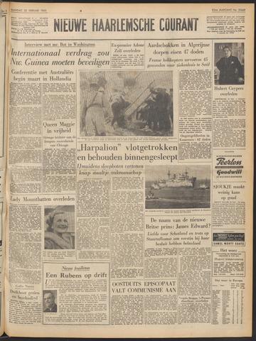 Nieuwe Haarlemsche Courant 1960-02-22