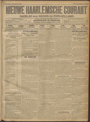 Nieuwe Haarlemsche Courant 1916-02-01