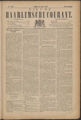 Nieuwe Haarlemsche Courant 1888-03-16