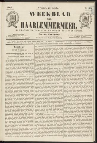 Weekblad van Haarlemmermeer 1863-10-23