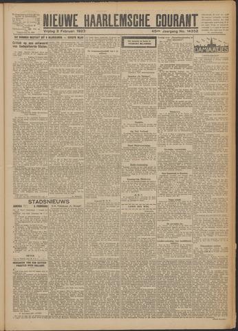 Nieuwe Haarlemsche Courant 1923-02-02