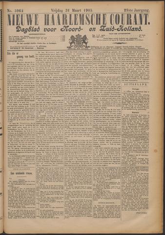 Nieuwe Haarlemsche Courant 1905-03-31