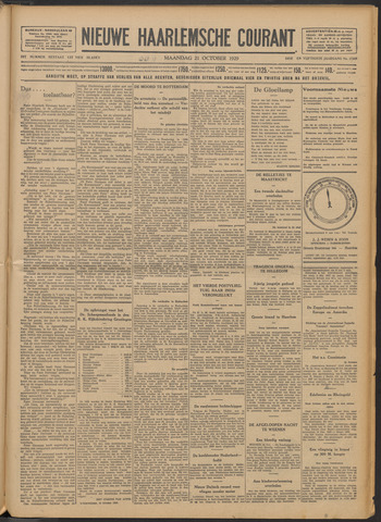 Nieuwe Haarlemsche Courant 1929-10-21