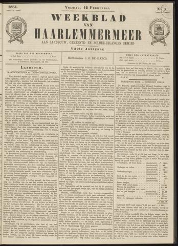 Weekblad van Haarlemmermeer 1864-02-12