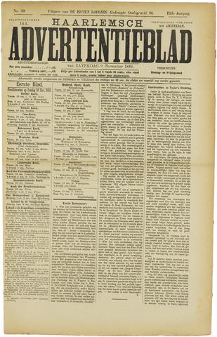 Haarlemsch Advertentieblad 1889-11-09