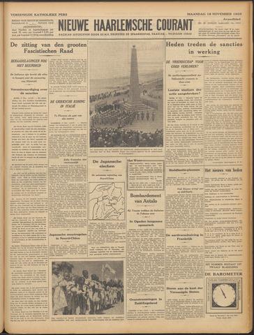 Nieuwe Haarlemsche Courant 1935-11-18