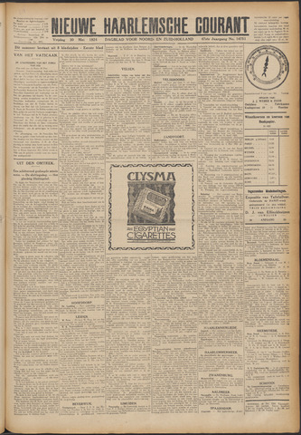 Nieuwe Haarlemsche Courant 1924-05-30