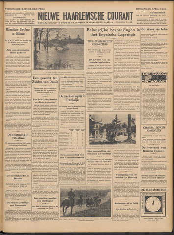 Nieuwe Haarlemsche Courant 1936-04-28