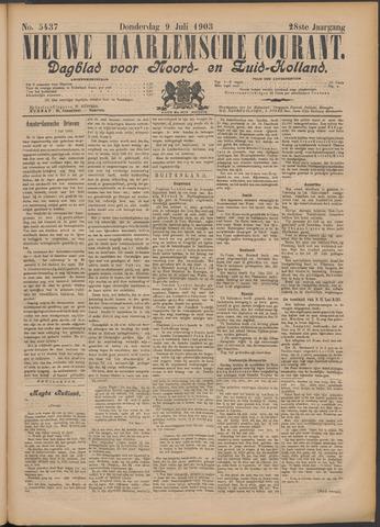 Nieuwe Haarlemsche Courant 1903-07-09