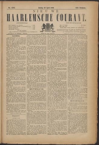 Nieuwe Haarlemsche Courant 1889-04-28