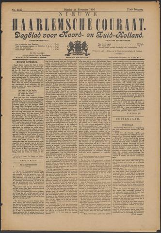 Nieuwe Haarlemsche Courant 1896-11-24