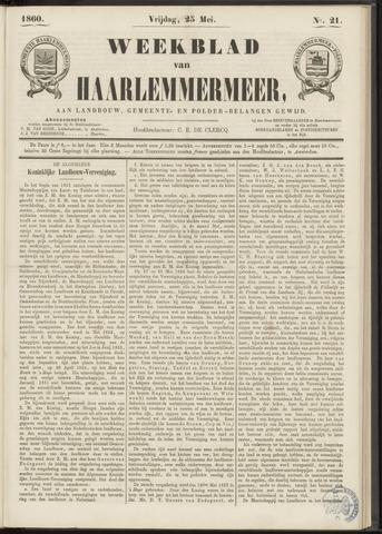 Weekblad van Haarlemmermeer 1860-05-25