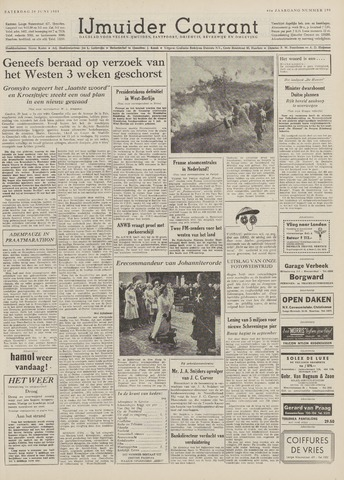 IJmuider Courant 1959-06-20