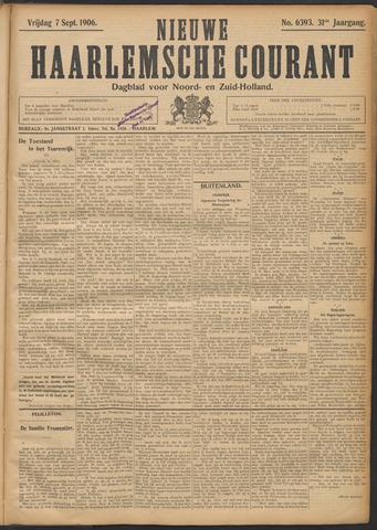 Nieuwe Haarlemsche Courant 1906-09-07