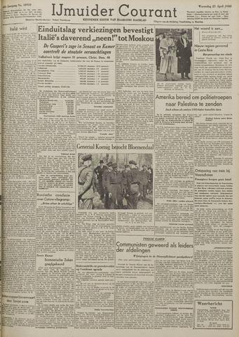IJmuider Courant 1948-04-21