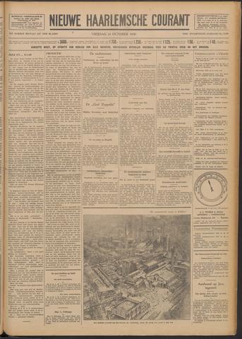 Nieuwe Haarlemsche Courant 1930-10-24