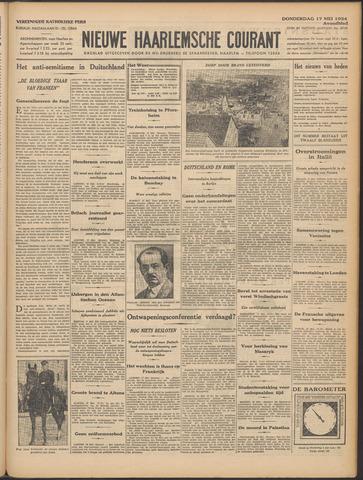 Nieuwe Haarlemsche Courant 1934-05-17