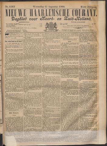Nieuwe Haarlemsche Courant 1900-08-15