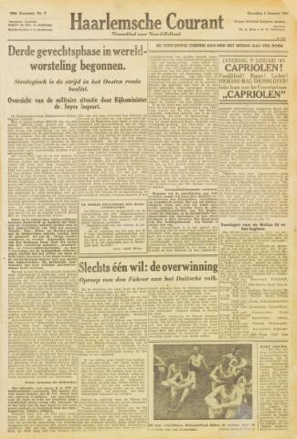 Haarlemsche Courant 1943-01-04