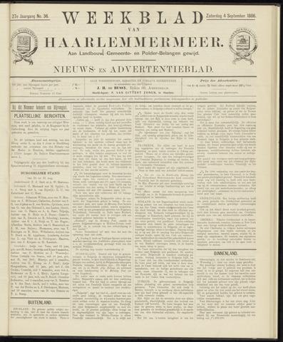 Weekblad van Haarlemmermeer 1886-09-04